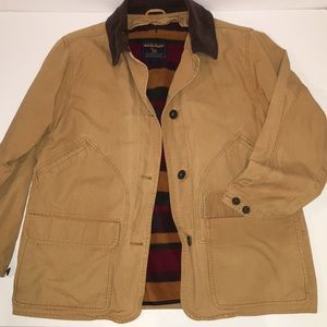 WOOLRICH Dorrington barn jacket w/fleece lining